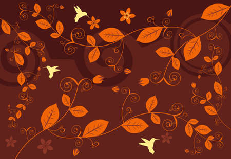 Abstract Floral Background Stock Vector - 5002131