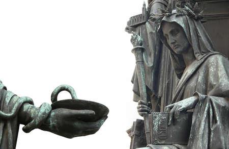 ancient philosophy: Medicine and Philosophy Symbols