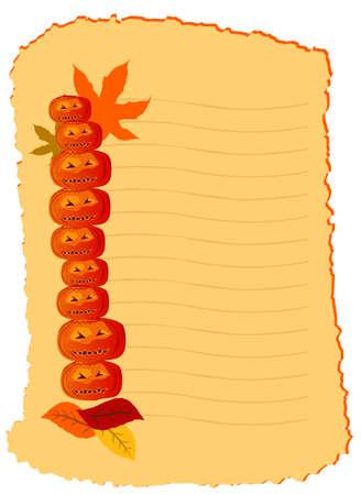 Vector Halloween Card Vector