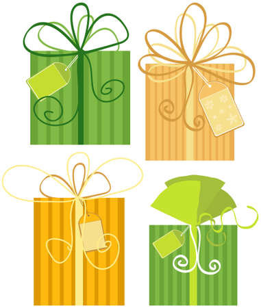 Vector Holiday Modern Gifts Sale Design Vector
