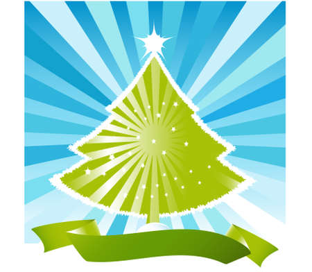 Vector Christmas Tree Design