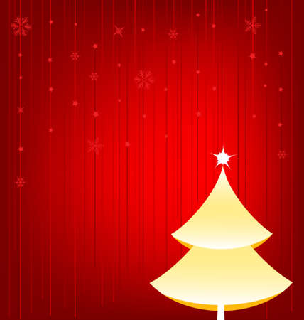 Christmas Tree Design Element Stock Vector - 5659362