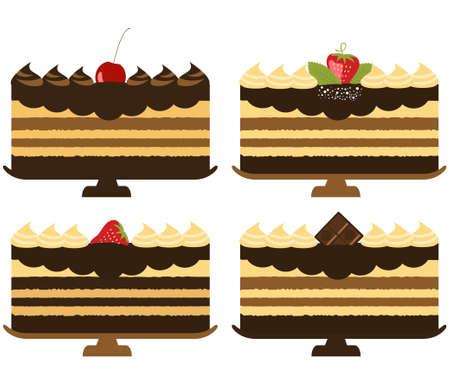 vanilla pudding: Colecci�n de pasteles de vacaciones