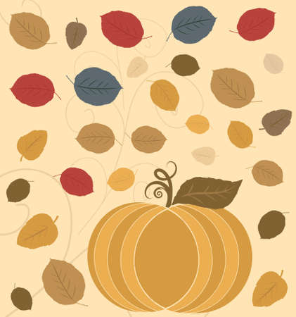 Thanksgiving Holiday Background Stock Photo
