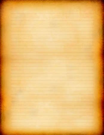 Blank Vintage Paper Texture illustration Stock Photo