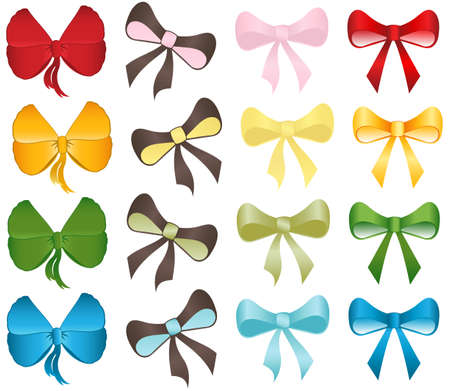 Colorful Bows Set
