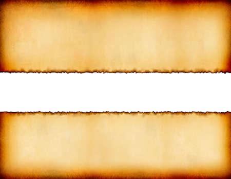 Old Grunge Background with White Stripe