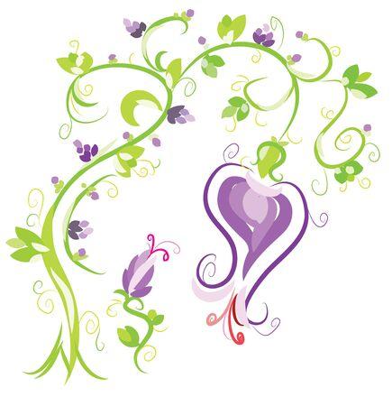 Flower as ornament