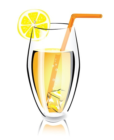 Summer cocktail Stock Vector - 17966623