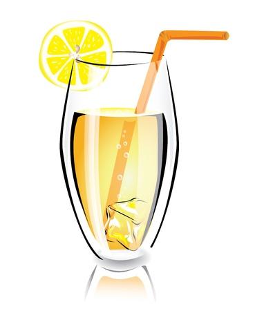 ice lemon tea: Summer cocktail