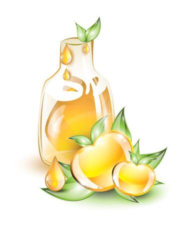 yellow apple: Yellow apple juice