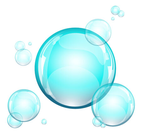 water resources: Water bubbles