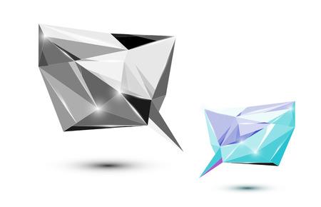 Polygonal speech shapes