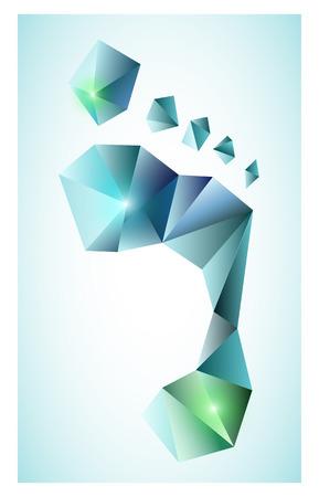 Polygonal footprint