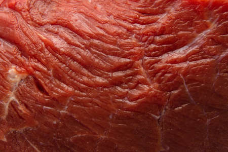 Fresh raw beef steak, meat close up.