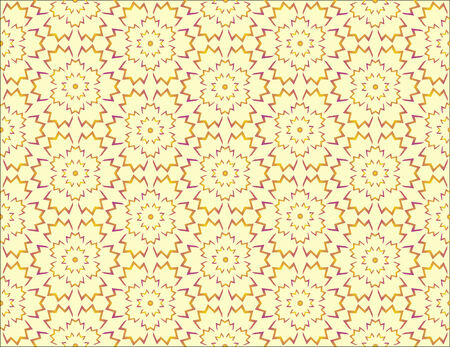 revivalism: Seamless pattern with flowers. Vector illustration