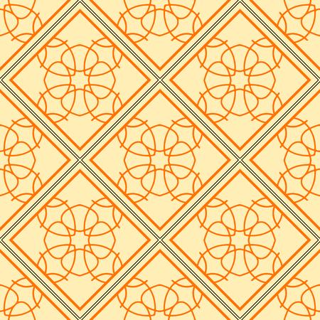Elegant geometric background made of floral decorative pattern.
