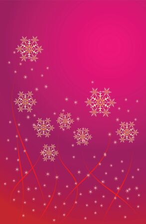 vector abstract Christmas background with a beautiful fireworks Stock Vector - 11659719