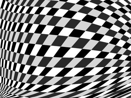 Abstract black and white geometric vector background Illustration