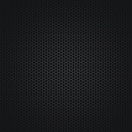 Dark abstract vector background with a metal grid (EPS 8) Ilustrace