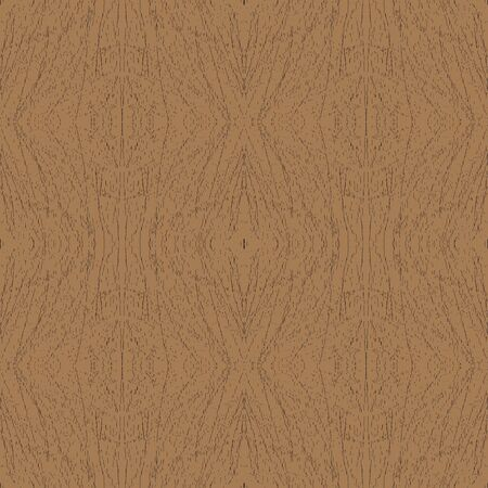 Seamless pattern depicting the texture of wood Vector