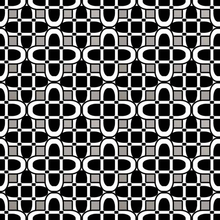 Abstract seamless pattern in dark colors for your design Stock Vector - 12118380