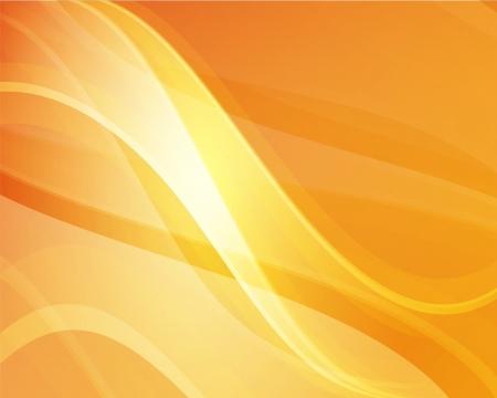 smooth curve design: Fondo abstracto naranja para su dise�o Vectores