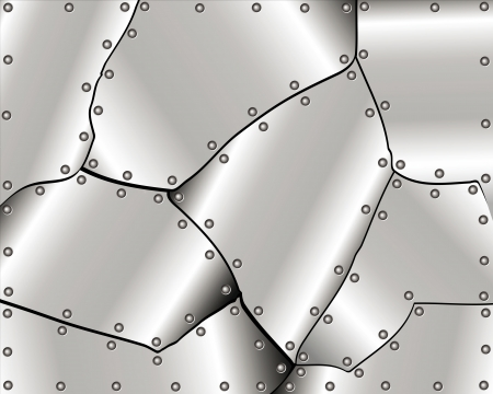 Abstract metal background for your design Vector