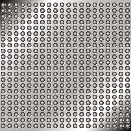 Zusammenfassung Metall Hintergrund mit Nieten für Ihr Design Standard-Bild - 17306562