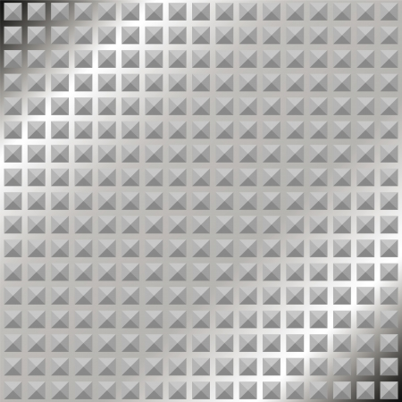diamond shaped: Metal background with a corrugated surface in shades of gray