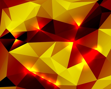 Bright abstract background polygon for your design Illustration