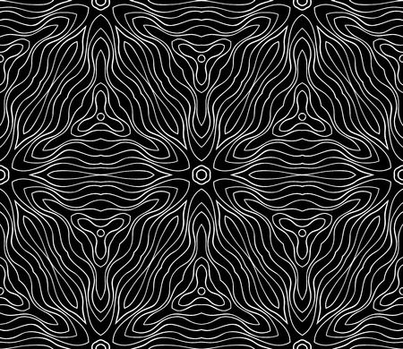 Seamless monochrome pattern for your design Stock Vector - 18620480