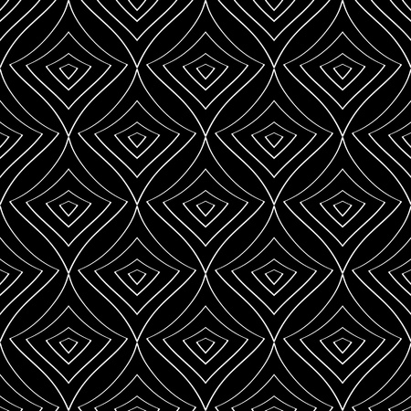 Seamless monochrome pattern for your design Stock Vector - 18620418
