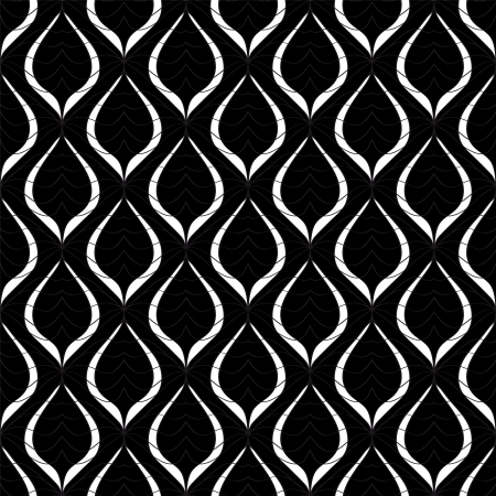 Seamless monochrome pattern for your design Vector