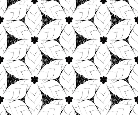 Seamless monochrome pattern for your design Stock Vector - 18620434