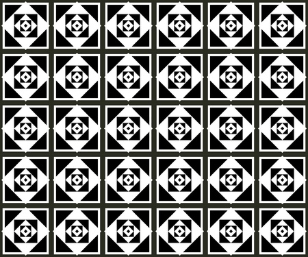 Seamless monochrome pattern for your design Stock Vector - 19004418