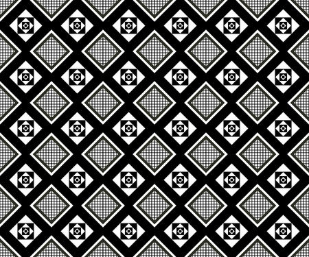 Seamless monochrome pattern for your design Stock Vector - 19004420