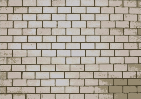 fortified: Brick wall close up for your design Illustration