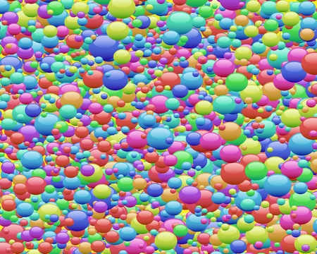 brightly colored: Abstract background with colorful bubbles for your design
