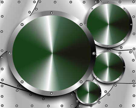 felgen: Metall-Hintergrund mit Stahlfelgen f�r Ihr Design