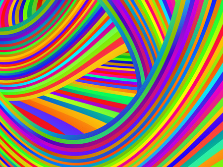 Abstract striped bright colorful background for your design Illustration