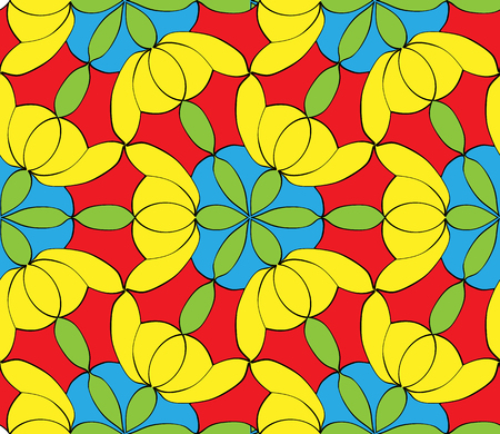Abstract seamless color pattern for your design Illustration