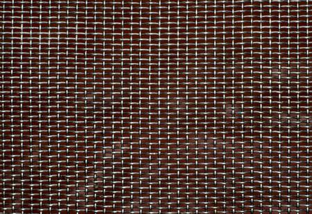 Texture of rusty metal grid  Standard-Bild