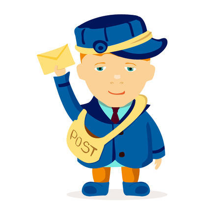 young postman