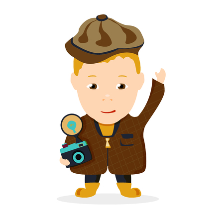 photographer boy