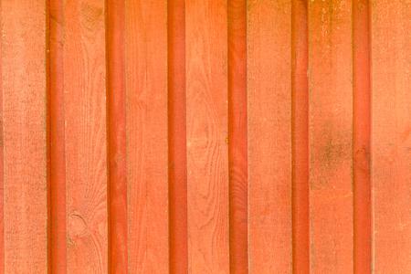 red wooden facade, texture