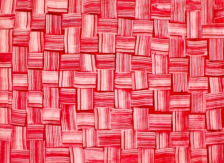 red plaid: Textiles. Bright red plaid  fabric as natural background