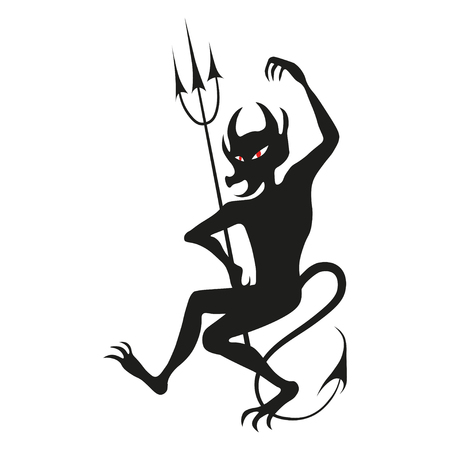 An illustration of a stylised troll or other monster Ilustrace