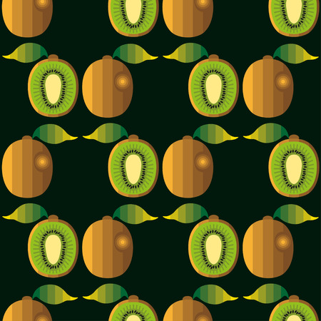 bright,,color, summer, sunny fruit composition of tropical and exotic fruits.Vector cheerful, refreshing clothes decor texture,prints by constructing and decorating accessories. kiwi pattern