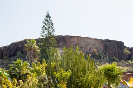 mountains on the island of gran canaria Stock Photo